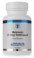 Melatonin (3 mg.) Sublingual