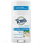Tom's of Maine Deodorant Honeysuckle Rose Long Lasting