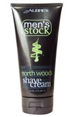 Men's Stock North Woods Shave Cream 6oz