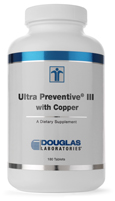 Ultra Preventive III with Cu & Fe (Tablets)