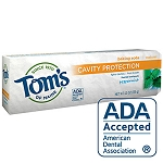 Tom's of Maine Fluoride Toothpaste Spearmint with Baking Soda