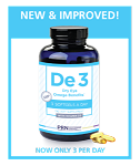 DE3 Dry Eye Omega Benefits by PRN (90ct)  9%discount per bottle when you purchase 3 or more bottles