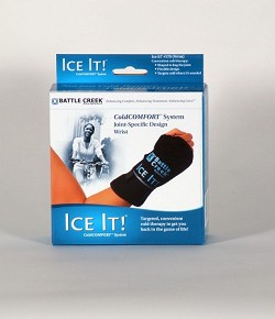 "Ice It Cold Therapy Ice Pack (Wrist Deluxe) 5"" X9"""